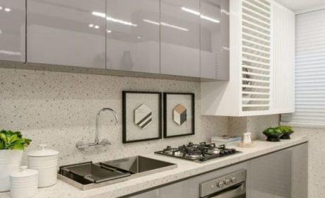 مدلهای جدید کابینت با دستگیره مخفی برای آشپزخانههای مدرن