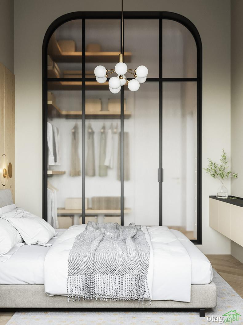 آشنایی با سبک مدرن کلاسیک در طراحی آپارتمان 85 متری دو خوابه