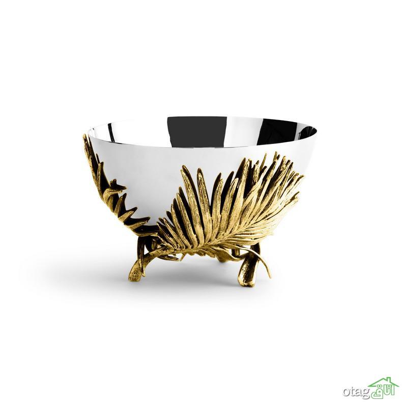 سرویس آجیل خوری جدید در طرحهای چینی، فلزی و کریستال