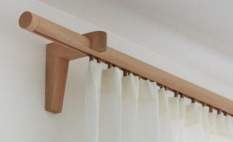 طرحهای جدید چوب پرده چوبی و قاب و کتیبه برای تزیین هال پذیرایی