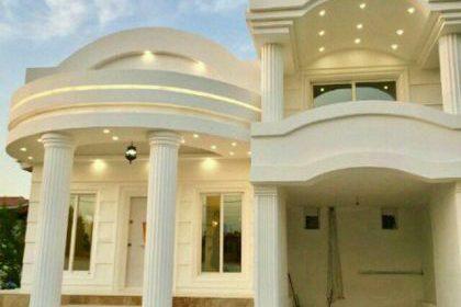 پلان ویلای دوبلکس کلاسیک، طرحهای جدید خانه ویلایی رومی