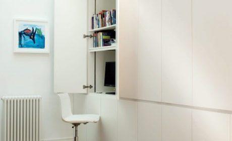 کمد میز شو، معرفی طرحهای خلاقانه و کاربردی از میز کار مخفی