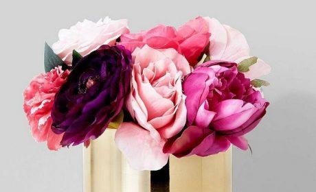 30 مدل گلدان طلایی لوکس در انواع جدید پایهدار و ساده