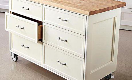 انواع مدلهای میز جزیره آشپزخانه، معرفی 6 طرح پرطرفدار