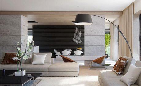 نکات و ویژگی های طراحی دکوراسیون داخلی مدرن برای منزل + تصویر