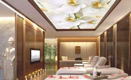 سقف کشسان پرینتی یا چاپی جلوه گر طرح انتخابی شما برای سقف منزلتان