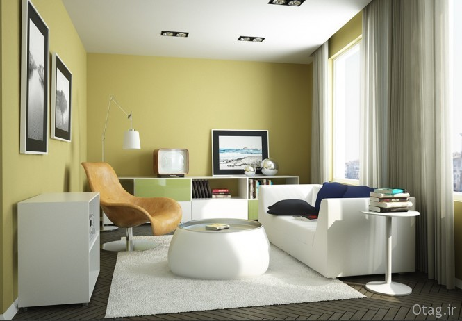28-Yellow-green-Living-Room-665x462