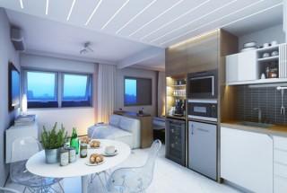 طراحی دکوراسیون آپارتمان کوچک 29 متری - چیدمان