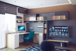 عکس و مدل دکوراسیون اتاق خواب نوجوان مدرن و شیک