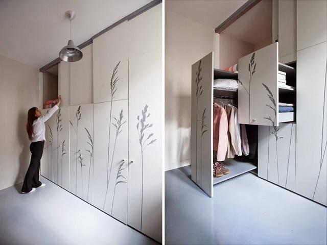 8-sqm-Parisian-Apartment-with-Hidden-Facilities (2)