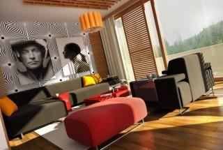 ایده های جذاب طراحی و دکوراسیون اتاق نشیمن مدرن و شیک
