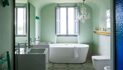 آشنایی با مدل های زیبا و جدید رنگ حمام و سرویس بهداشتی