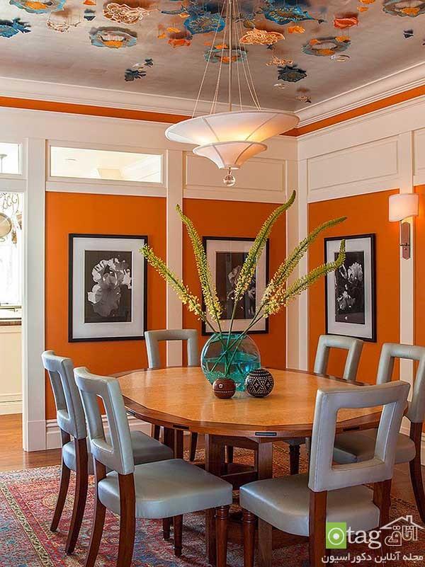 Beautiful-orange-in-dining-room-decoration (12)