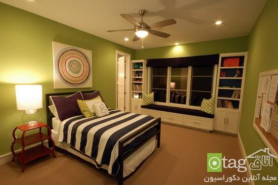 بهترین رنگ برای اتاق خواب شیک و زیبا در طرح های مختلف