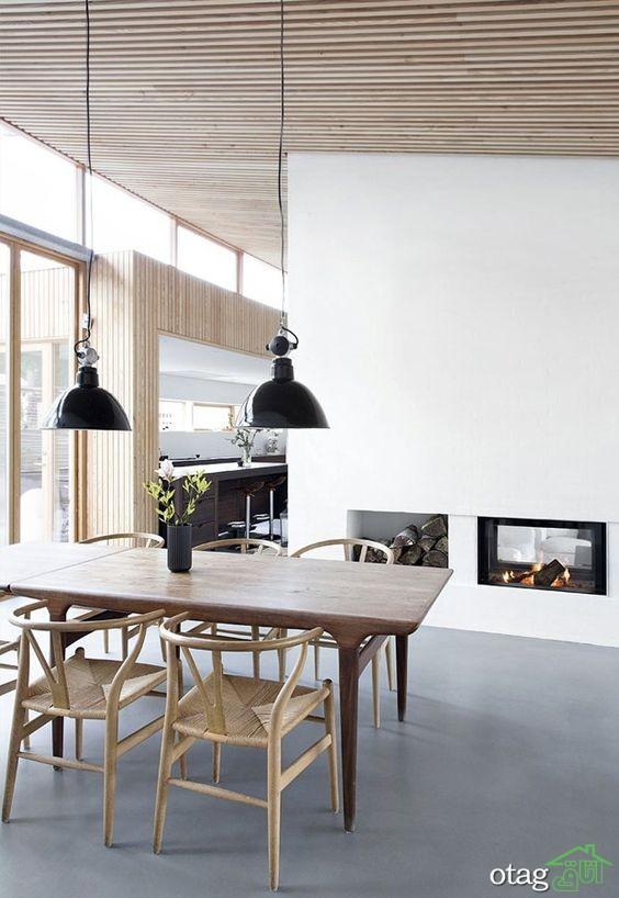 37 مدل کف چوبی اتاق پذیرایی بسیار زیبا و منحصر به فرد