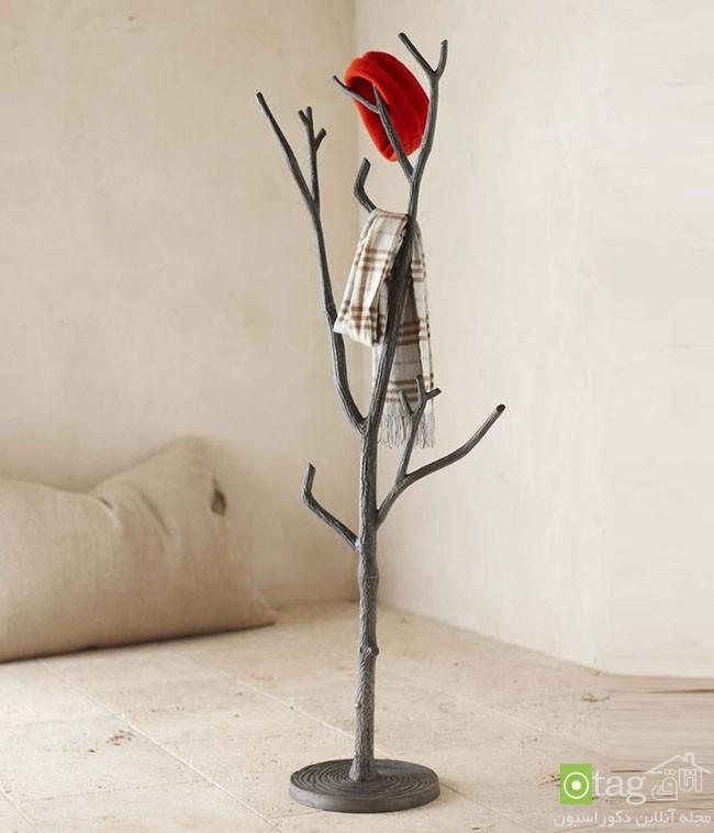 Birch-tree-clothing-rack-in-a-bedroom (2)