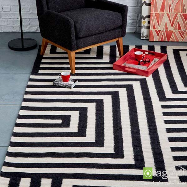 Black-and-white-kilim-rug-and-carpet-designs (2)