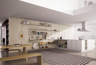 زیباترین مدل های شلف و قفسه آشپزخانه مدرن / عکس