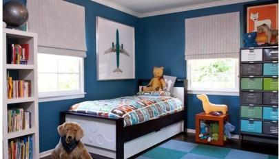 دکوراسیون اتاق خواب پسرانه با طراحی و تزئین شیک و مدرن