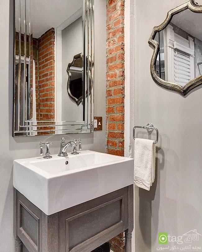 Brick-wall-in-elegant-bathrooms (11)