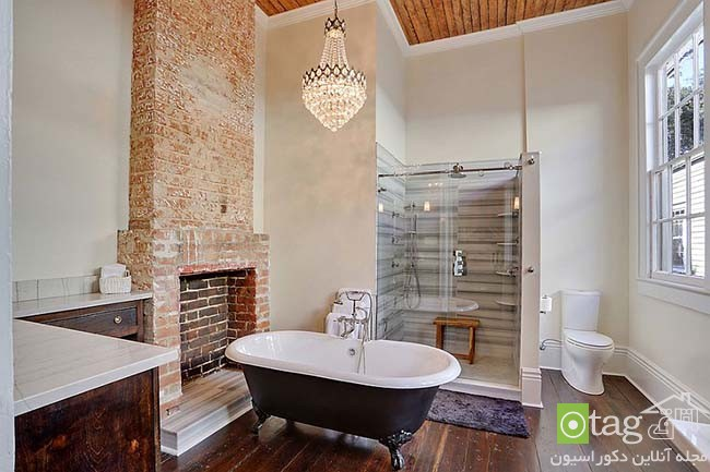 Brick-wall-in-elegant-bathrooms (12)