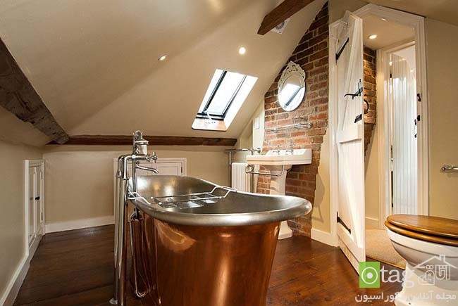 Brick-wall-in-elegant-bathrooms (17)