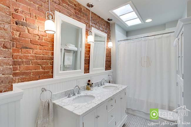 Brick-wall-in-elegant-bathrooms (18)