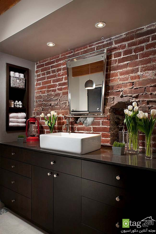 Brick-wall-in-elegant-bathrooms (19)