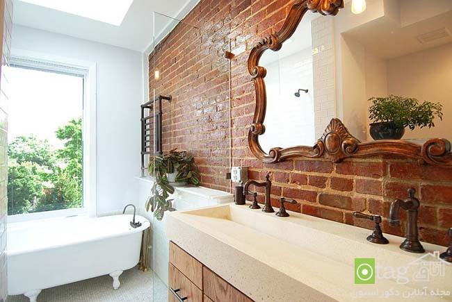 Brick-wall-in-elegant-bathrooms (20)