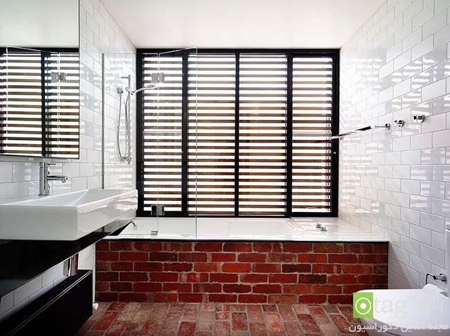 Brick-wall-in-elegant-bathrooms (4)
