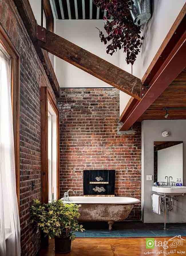Brick-wall-in-elegant-bathrooms (6)