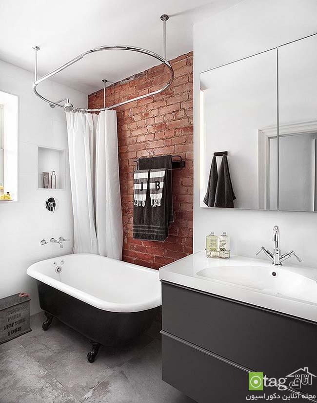 Brick-wall-in-elegant-bathrooms (7)