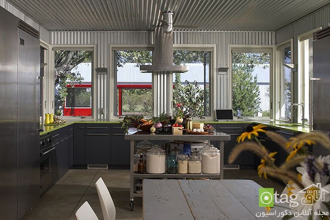 Bright-metallic-themes-in-kitchen (11)