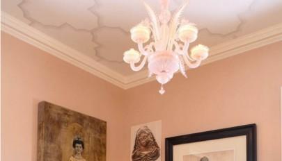 مدل های جدید کاغذ دیواری سقف در طرح های مدرن و کلاسیک