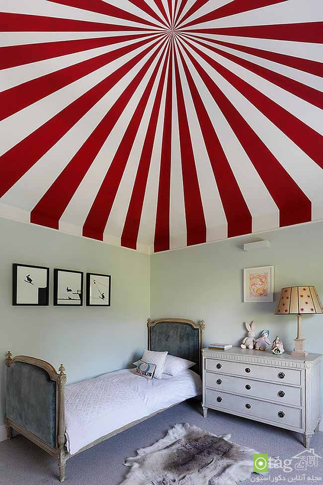 Cheerful-and-chic-kids-room-with-red-accent (2)
