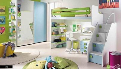 راهنمای طراحی اتاق کودک شیک و فانتزی برای دختر و پسر