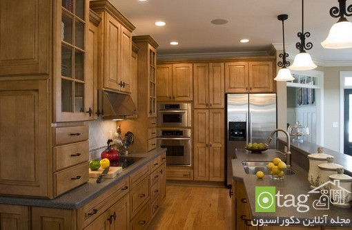 Classic-Wood-Cabinets-in-Kitchen-Ideas (1)