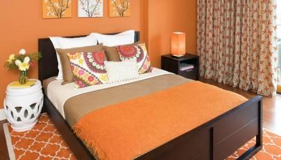 ایده هایی برای رنگ دیوار اتاق خواب مدرن و شیک