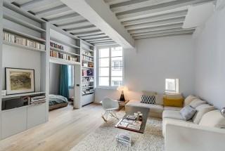 دکوراسیون داخلی آپارتمان کوچک با چیدمان کلاسیک و مدرن