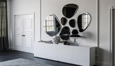 مدل آینه های مدرن مناسب اتاق نشیمن و راهروی ورودی خانه