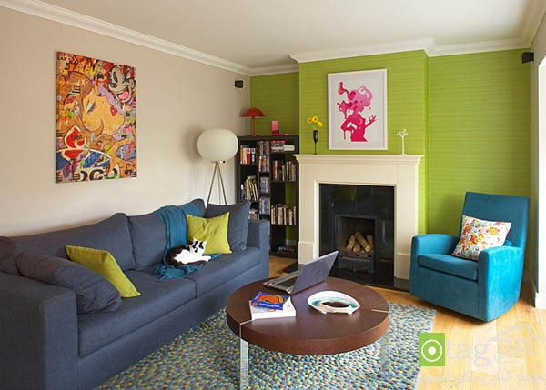 Contemporary-living-room-with-shades-of-green (4)