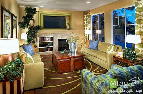 Contemporary-living-room-with-shades-of-green (7)