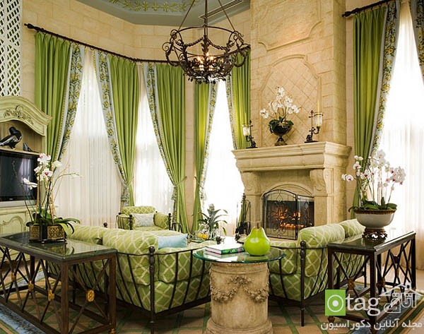 Contemporary-living-room-with-shades-of-green (9)