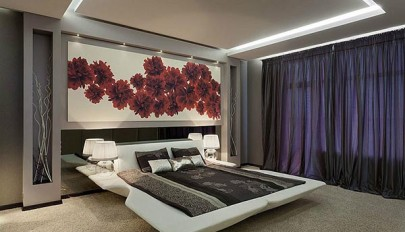 زیباترین مدل های پرده به رنگ تیره در دکوراسیون اتاق های منزل