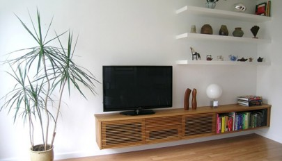 معرفی 20 مدل میز تلویزیون شناور برای دکوراسیون منازل مدرن