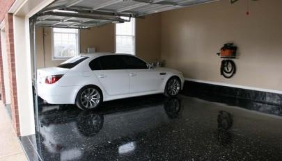 مدل کفپوش پارکینگ خانه و گاراژ با طراحی بسیار شیک و زیبا