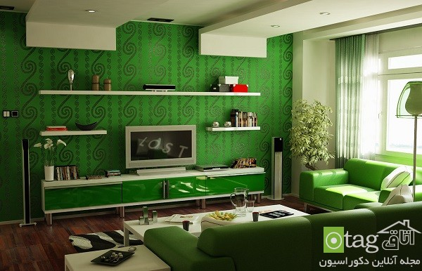 Green-soft-color-modern-living-room-designs (10)