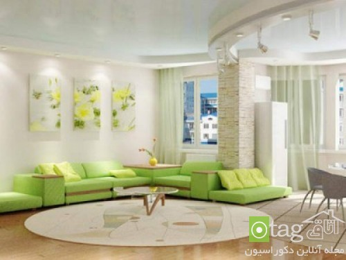 Green-soft-color-modern-living-room-designs (11)