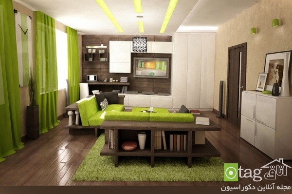 Green-soft-color-modern-living-room-designs (13)