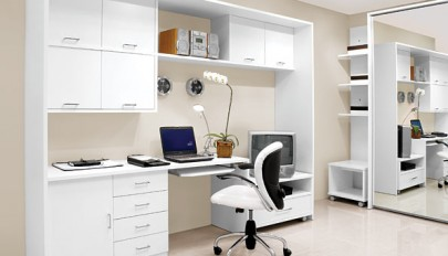 دکوراسیون محیط اداری خانگی با طرح های کاملا بروز و جدید